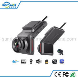 Tableau de bord de la caméra vidéo numérique de voiture avec GPS WiFi 4G