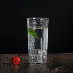 Preiswerte trinkende Tee-Wasser-Cup-Glasglastrommel für das Trinken