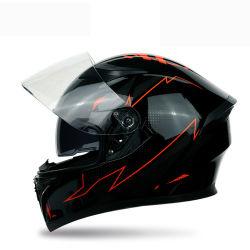 ABS Helm van het Gezicht van de Motorfiets van de Fiets van de Straat Offroad Volwassen Volledige