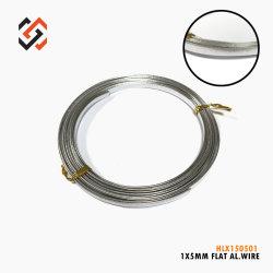 1X5mm de alumínio estampado cordão artesanais150501Hlx do fio para o artesanato, BRICOLAGEM