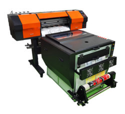 Ensemble complet de l'imprimante de film avec sécheur pour les vêtements utilisés Cmykw de transfert de chaleur des encres pigmentées