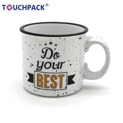 هدايا ترويجية سعر لطيف 11 أونصة أكواب القهوة الملونة