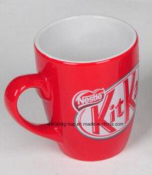 Rote Kitkat fördernde Kaffeetasse für Geschenk (CPBZ-4089)