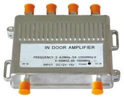 En la puerta CATV Amplificador de señal de la vivienda