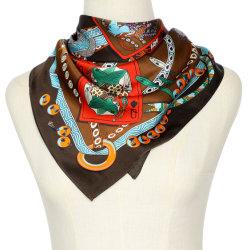 2020高品質のカスタムショールのデジタル最も新しい印刷の絹のサテンおよびあや織りのスカーフ