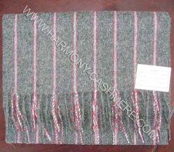De geweven Zachte Sjaal van het Kasjmier met Strook