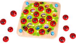 맞춤형 유아용품 나무완구 매칭 게임 메모리 테스트 판지