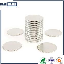 Strong Nickel NdFeB N35 N42 Aimant de Néodyme Disc de la terre N52 pour l'emballage