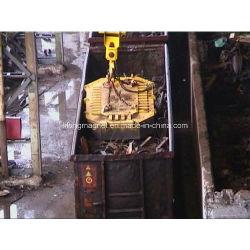 Elektrischer anhebender Magnet für die Schrotte, die an der Station laden