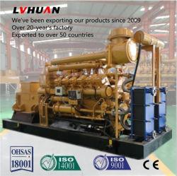 500kw 1MW 침묵하는 콘테이너 휴대용 전기 터빈 모터 가스 발전기