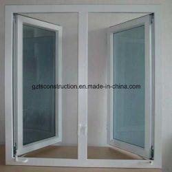نافذة كازيement مزدوجة الزجاج من مادة PVC
