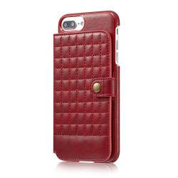 بيع ساخنة جودة عالية الجلد الأصلي غطاء iPhone الجلد iPhone8 علبة مع حامل البطاقات