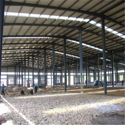 Китай Q345 сборных легких стальных структура рамы современный склад