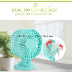 El verano del enfriador de aire del ventilador USB para el hogar Mesa Mini portátiles Portátiles ventiladores para acondicionador de aire acondicionado Ventilador para el exterior