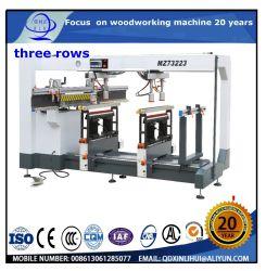 MDF 및 HDF/섬유판/목재 플라스틱 복합재 다울홀 보링 기계/CNC 수평 보링 및 밀링 기계 카펜터 수직 힌지 드릴러