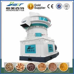 Papel de casca de soja Pelletizer populares Pressione Mill com forte estrutura