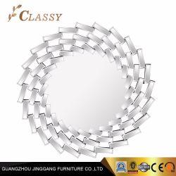 Siver paroi métallique miroir pour la salle de séjour Meubles décoratifs