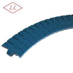 Hochleistungstisch-Oberseite-seitliche biegende Förderanlagen-Plastikkette für Verpackmaschinen (FTM1060)
