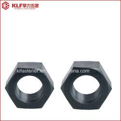 Dado strutturale esagonale pesante in acciaio al carbonio nero DIN6915