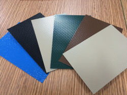 1100 Color Coated Roofing Material Aluminium Embossed Sheet