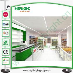 Supermarkt Equipments en Display Shelf met 3D tekening