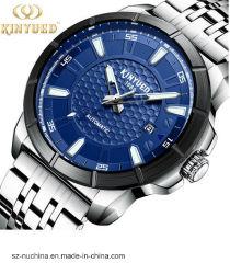 Men′ ステンレス鋼の自動多機能の機械動きが付いている防水クロノグラフの腕時計