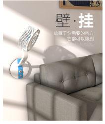 Ventilatore ricaricabile solare di CC di CA del ventilatore diritto 6V della fabbrica con l'indicatore luminoso del LED per la casa