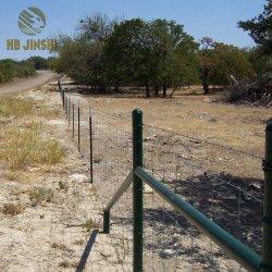 Fil à haute résistance galvanisé Ferme de clôture de la prairie mixte à charnière