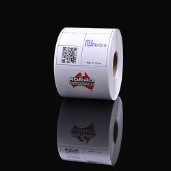 Não impermeável adesivo removível forte autocolante de PVC, imprimindo etiquetas de PVC impermeável