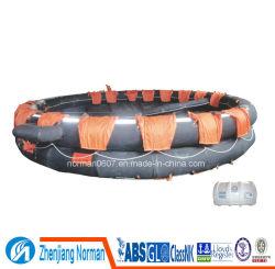 30 personas Open-Reversible balsa salvavidas inflables-25/30 (ORA)
