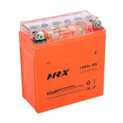 Batterij van de Motorfiets van het Gel van het Onderhoud van het Lood 12V5ah van 12n5l-BS van de goede Kwaliteit de Zure Vrije
