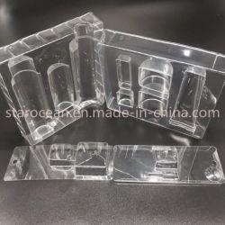 Kundenspezifische Plastikmaschinenhälften-Blasen-verpackenblasen-Satz-Material der Aktien-PVC/Pet