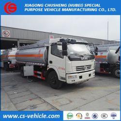 4X2 Dongfeng 8000L de carburant du chariot de Bowser fabrique, panier de réservoir de carburant, couvercle du réservoir de carburant pour le camion