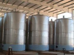 Barili dei serbatoi di putrefazione della fabbrica di birra del vino della birra dell'acciaio inossidabile 1000L