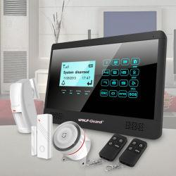أنظمة إنذار GSM مع شاشة LCD ولوحة مفاتيح لمس OEM/ODM (Yl-007M2E)