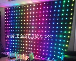 Дискотека на фоне LED видение шторки с 5050 SMD