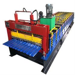 Farben-Stahldach-Rolle, die Maschine bildet