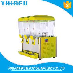 China 3 tanques de vidrio frío tomar jugos dispensador con buen precio.