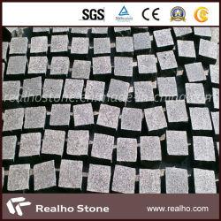 G684 pour le pavage de granit noir, cubes, de pavés, de cailloux