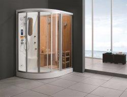 High-Class Vapor Húmedo Sauna seco y combinación de la casa (M-8218R/L)