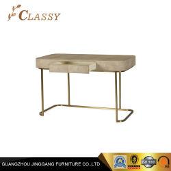 황금 강철 목제 콘솔 테이블 홈 테이블