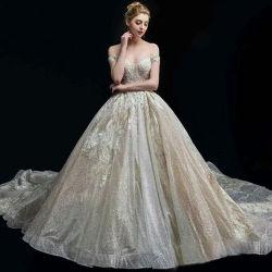 Kleding van de Kleding van de Toga van de Kleding van het Huwelijk van de Avond van Prom van het Kant van de Vrouwen van het Meisje van de Dames van de manier de Bruids