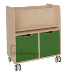 خزانة لعبة الأطفال البلاستيكية/خزانة الأطفال خزائن تخزين/أثاث روضة الأطفال