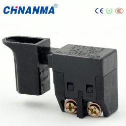 Outils d'alimentation CC de déclencher des commutateurs avec bouton de sécurité