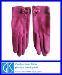 Servicio de Inspección profesional para los guantes en China