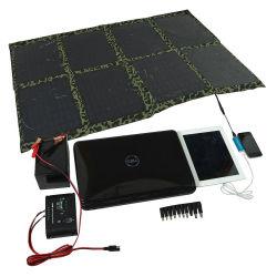 5W~150W 折りたたみ式ソーラー充電器、ソーラーパワーバンク、 USB ポータブルソーラーパネル、 iPhone 、 iPad 、カメラ、ノートブック、 USB 用