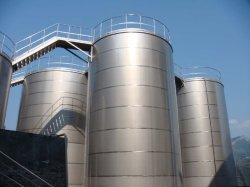 316Lステンレス鋼の化学製品の貯蔵タンク