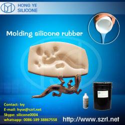 Tomada do molde com borracha de silicone 30 Shore A
