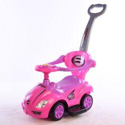 Neues Produkt-Kind-Fahrplättchen-Auto mit musikalischem Lenkrad