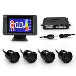 Sensores de Parking LCD Monitor Espejo de aparcamiento ayuda con 4 sensores de marcha atrás para el coche